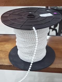 Cadena Plastica Blanca Cortinas Rollers