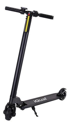 Imagen 1 de 9 de Monopatin Electrico Iqual Scooter 12km/h Plegable Led 90kg