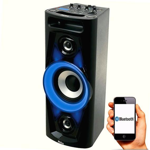 Caixa Acústica Pht3000 Som Potente Bluetooth Philco