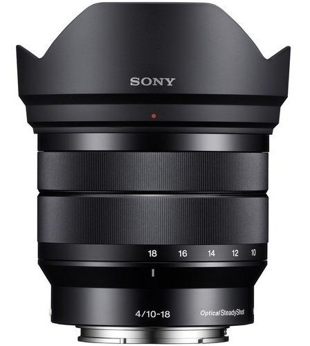 Lente Sony E 10-18mm F/4 Oss - Sel1018 - Loja Platinum