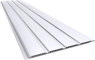 Cielorraso Machimbre Placas Pvc 20cm X 7mm X 6mts Blanco