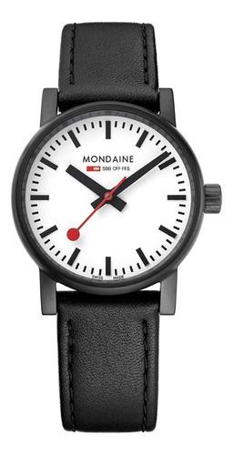 Reloj Suizo Original Mondaine Clase Sbb Para Mujer 30mm