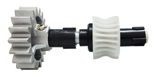 Imagem 1 de 1 de Eixo Completo Motor Ppa Dz Rio Coroa Z23 Engrenagem Z18 Dent
