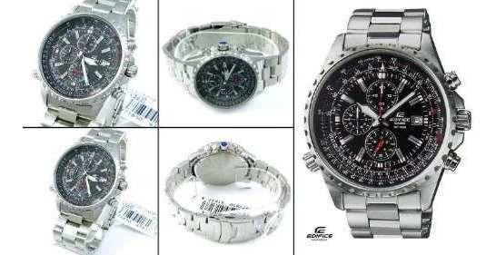 Reloj Casio Edifice Ef 527 Cronografo Pilotos,1 Año Garantia