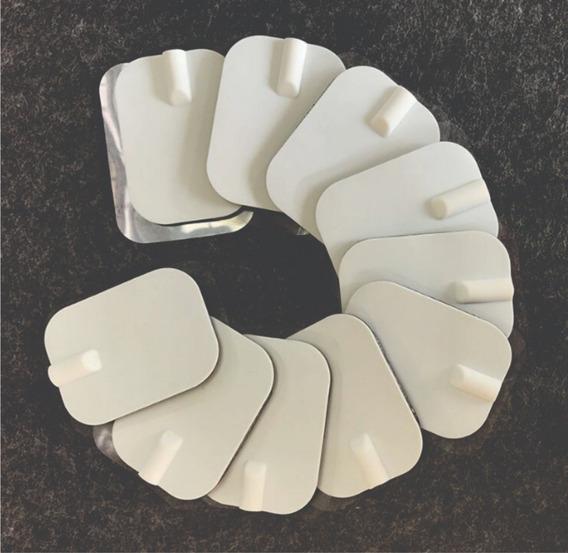 Almohadillas, Pads Tens Ems 10 Piezas Electro Súper Adhesivo