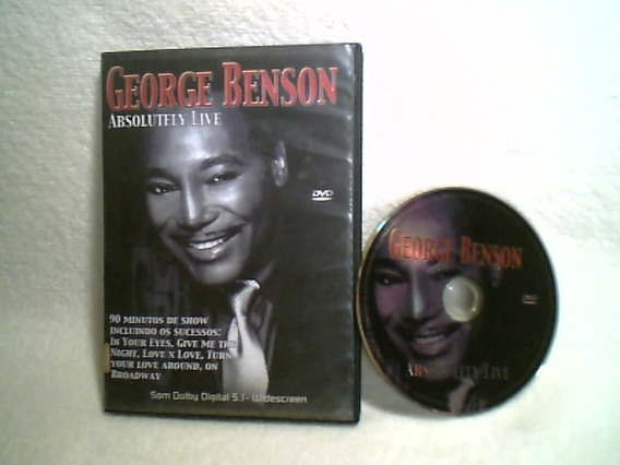 Dvd Original / George Benson - Absolutely Live