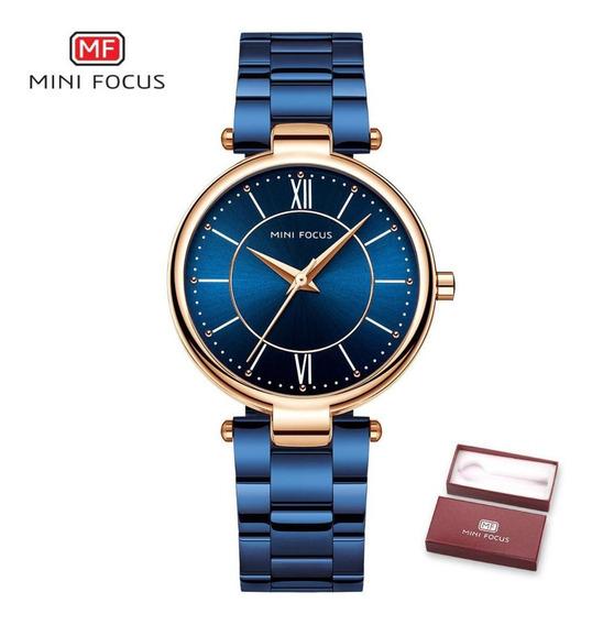 Relógio Feminino Mini Focus Mf0189l Original Frete Grátis