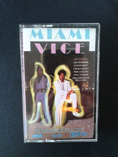 Fita K7 Miami Vice Music From Television Series Original Imp