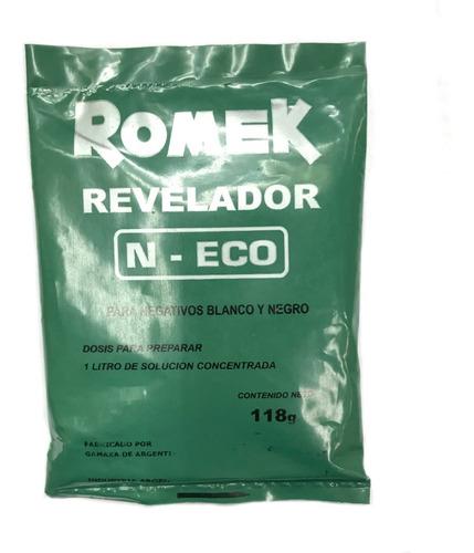 Imagen 1 de 2 de Revelador Romek P-eco Para Negativos Byn 118g (9367)