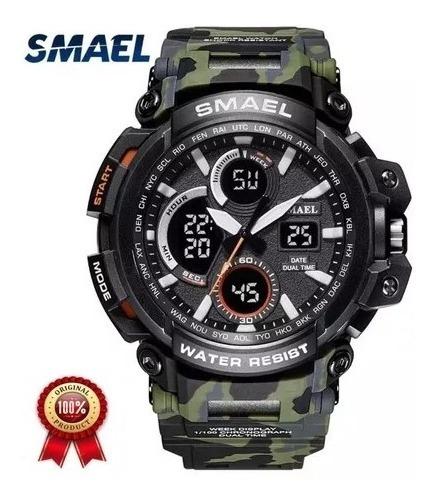 Relógio Smael Militar + Brinde