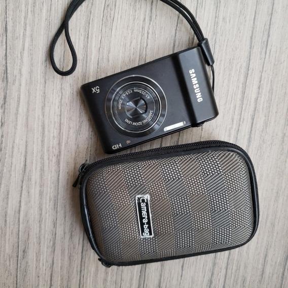 Máquina Câmera Digital Samsung St64 Preta
