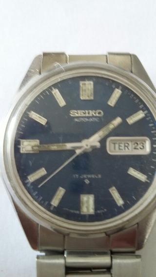 Relógio Seiko Automatic 17 Jewels (trabalha E Para)(14a)
