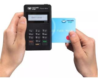 Maquininha Leitor De Cartão Point Mini - De Crédito/débito