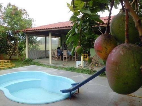 Chácara Com 2 Dormitórios À Venda, 1000 M² Por R$ 970.000,00 - Zona Rural - Anhembi/sp - Ch0036