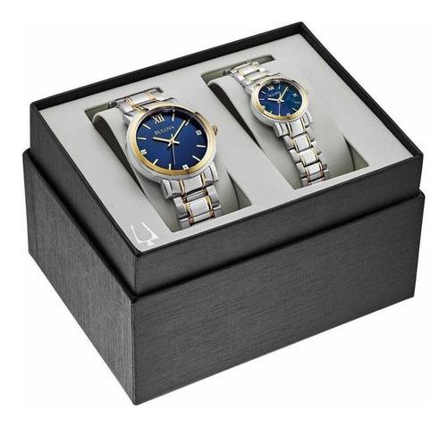 Imagen 1 de 1 de Reloj Pareja Bulova