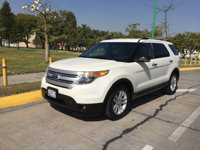Ford Explorer Xlt Piel Super Impecable!! 2012