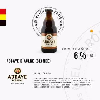 Cerveza Importada Abbaye D`aulne X 330 Ml - Bélgica
