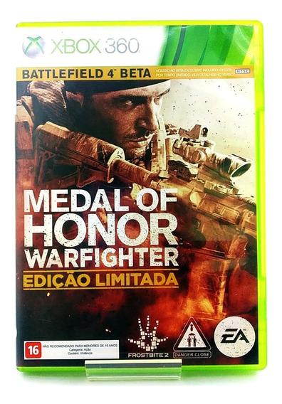 Medal Of Honor Warfighter Edição Limitada Xbox 360 Física