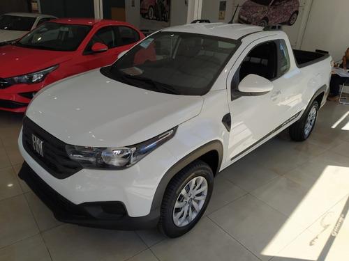 Fiat Strada Nueva Cabina Simple 2021 0km Stock  Contado #ca1