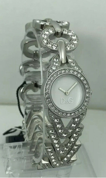 Relógio Dolce Gabanna Cacto Feminino C/ Cristais De Swarovsk