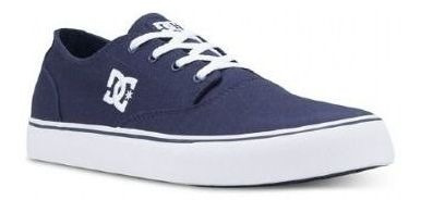 Tênis Dc Shoes New Flash 2 Azul Tx Navy White