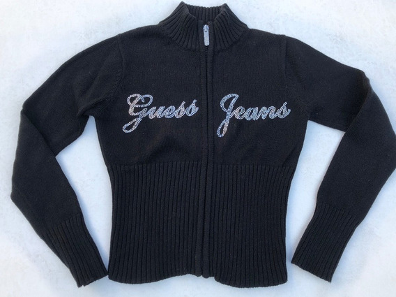 Campera Guess Ropa Importada Saco Cierre Strass Talle 8-10
