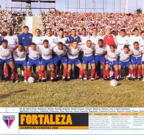 Náutico + Fortaleza + Vila Nova - Pôster Da Placar 2001