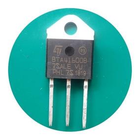 Bta41-600b ( 4 Unidade ) Transistor Triac Bta41 600 40a 600v