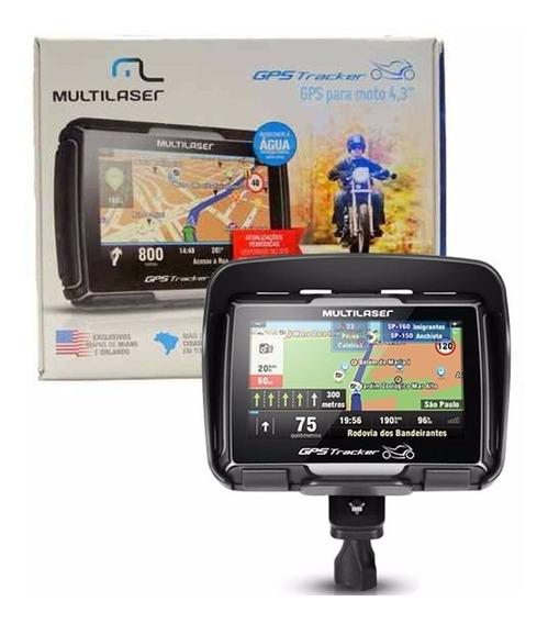 Gps Pra Moto Bluetooth Resistente A Agua Multilaser Gp040