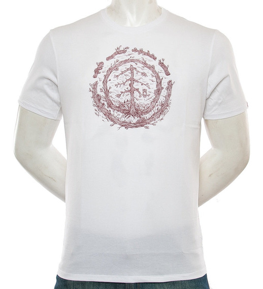 Remera Timber To Late Element Fluid Tienda Oficial