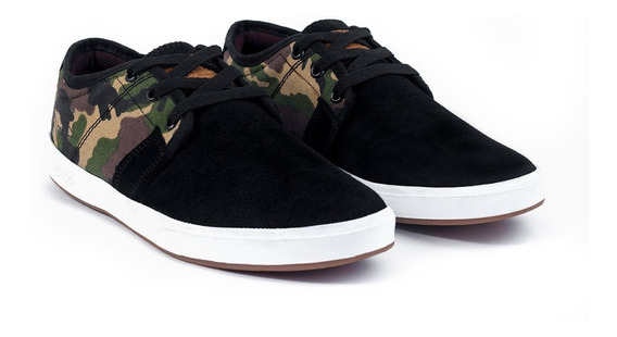 Tenis Hey Dog Skate Terry Negro Camo