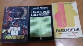Kit 3 Livros De Psicologia/ Parapsicologia