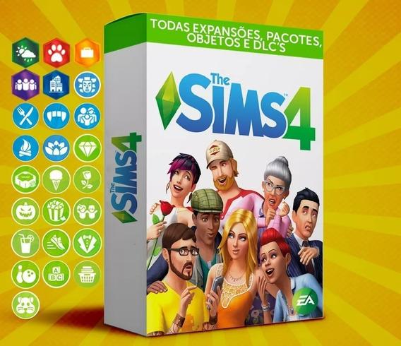 The Sims 4 - Todas Expansões + Vida Compacta - Português Pc