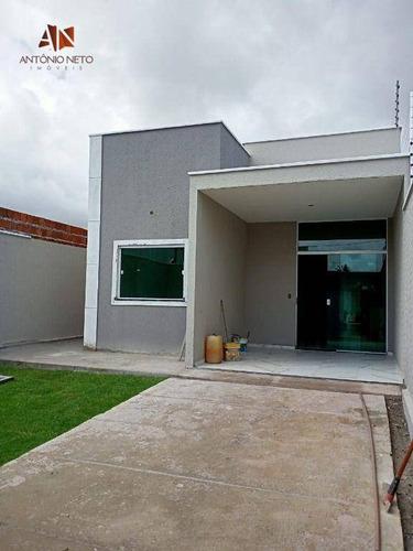 Imagem 1 de 15 de Casa À Venda, 100 M² Por R$ 300.000,00 - Paupina - Fortaleza/ce - Ca0241