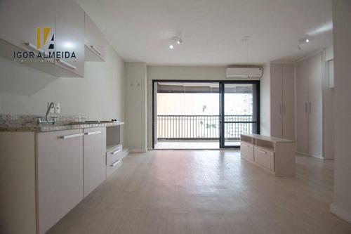 Apartamento Com 1 Dormitório Para Alugar, 42 M² Por R$ 2.400,00/mês - Bela Vista - São Paulo/sp - Ap14119