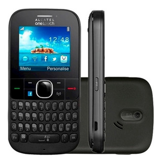 Celular Simples Alcatel 3075m,3g Wi-fi Rádio Anatel