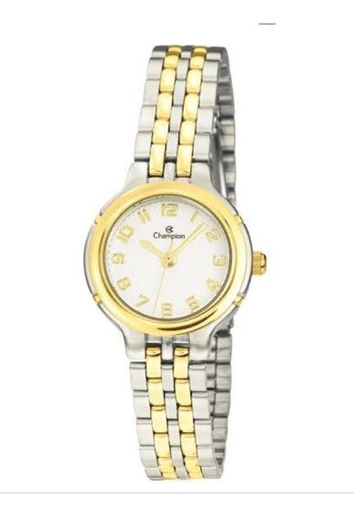 Relógio Champion Feminino Misto Pequeno + Semi Jóias