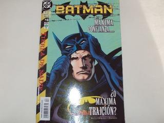 Batman Especial Tierra De Nadie # 4 - Vid