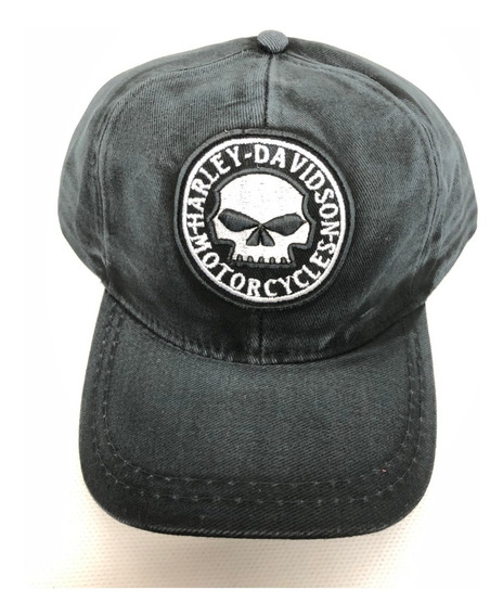 Boné Caveira Harley Davidson
