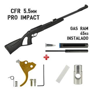 Gamo Cfr 55 Gas Ram - Tudo para Esportes de Aventura e Ação
