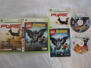Batman Lego/pure De Xbox 360