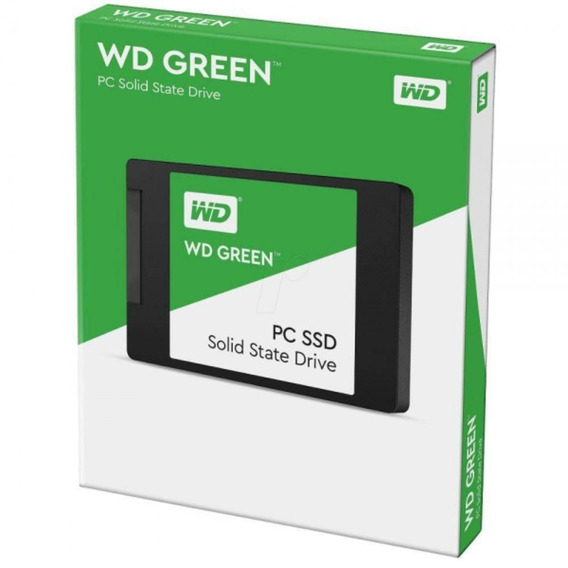 Kit Ssd 480gb Wd Green + 240gb Wd Green