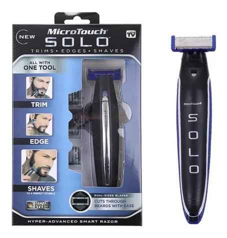 Multifuncional Micro Touch Electric Solo Barbeador Recarga U