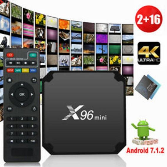 Smart Tv Box X96 2gb 16gb Android 4k Netflix Youtube Kodi