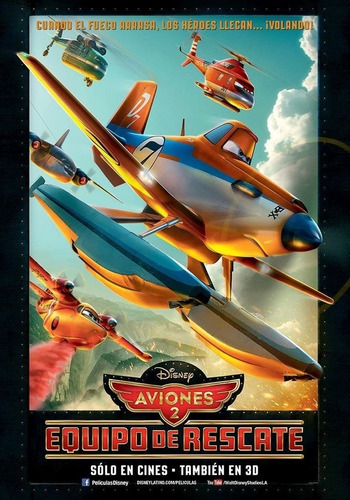 Poster Original Cine Aviones 2