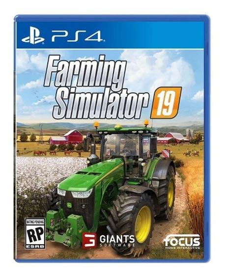 Farming Simulator 19 Midia Fisica (blu-ray) - Ps4