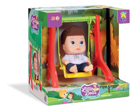 Little Dolls Balanço Menino 8100 - Divertoys
