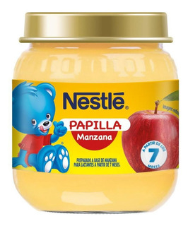 Papilla Manzana Nestle X 113gr