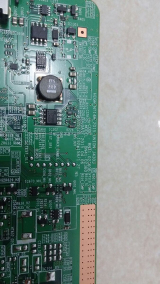 Placa Bn41-02360b Liga Mas Sem Imagem - Ótima Para Reparos.