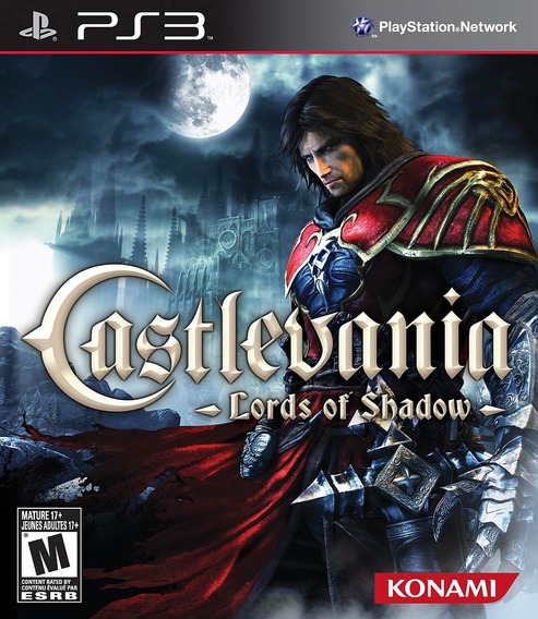 Castlevania Lords Of Shadow Ps3 - Mídia Física | Playgorila